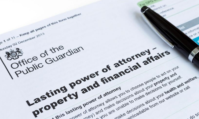 Lasting Power of Attorney Guidence